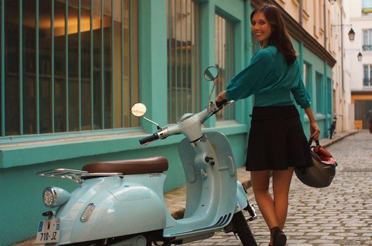 scooter retro électrique